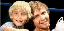Ricky Schroder and Jon Voight in The Champ