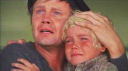 Jon Voight and Ricky Schroder in The Champ.