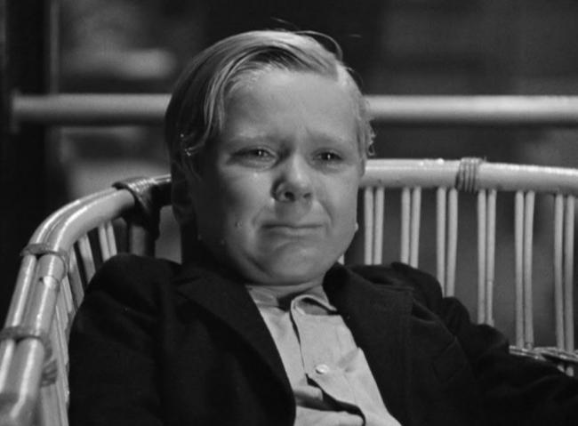 Jackie Cooper in The Champ.
