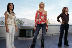 Lucy Liu, Cameron Diaz and Drew Barrymore in Charlies Angels: Full Throttle.