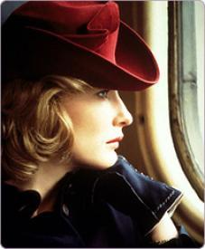 Cate Blanchett in Charlotte Gray.