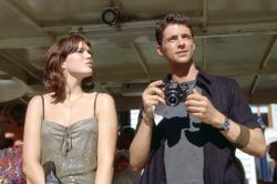 Mandy Moore and Matthew Goode in Chasing Liberty.