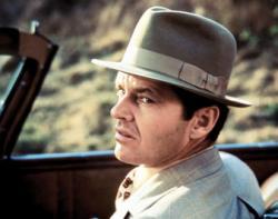 Jack Nicholson in Chinatown.