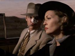 Jack Nicholson and Faye Dunaway in Chinatown