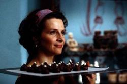 Juliete Binoche in Chocolat.