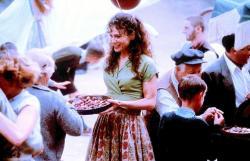 Lena Olin in Chocolat.