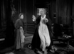 Kathleen Harrison and Alastair Sim in Scrooge.