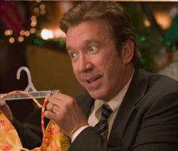 Tim Allen in Christmas with the Kranks.