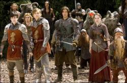 The Pevensie children are back in Chronicles of Narnia: Prince Caspian.