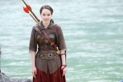 Anna Popplewell as Susan in Chronicles of Narnia: Prince Caspian.