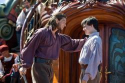 Caspian and Edmund aboard the Dawn Treader