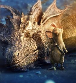 Simon Pegg as Reepicheep is one of the few highlights in Chronicles of Narnia: The Voyage of the Dawn Trader.