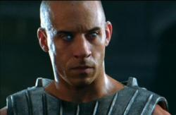 Vin Diesel in The Chronicles of Riddick.