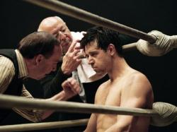 Paul Giamatti and Russell Crowe in Cinderella Man.