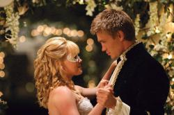 Hilary Duff and Chad Michael Murray in Cinderella Story.