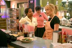 Regina King, Mary Pat Gleason, and Hilary Duff in A Cinderella Story.