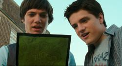Chris Massoglia and Josh Hutcherson get an invitation they cannot refuse in Cirque du Freak: The Vampire's Assistant