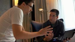 Edward Snowden and Glenn Greenwald