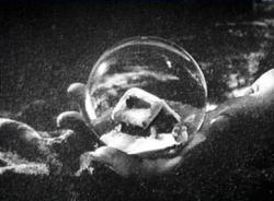 The snow globe from Citizen Kane.