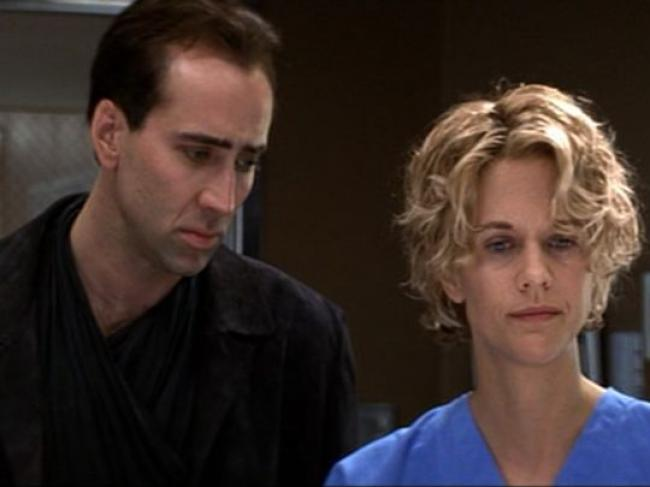 Nicolas Cage and Meg Ryan in City of Angels.