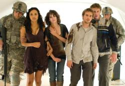 The cast of Cloverfield.