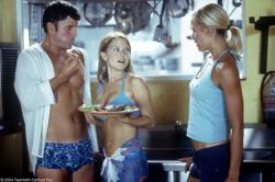 Some of the cast from Club Dread.