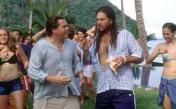 Kevin Heffernan and Bill Paxton in Club Dread.