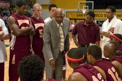 Samuel L. Jackson in Coach Carter.