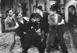The four Marx brothers in The Cocoanuts.