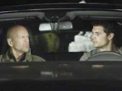 Bruce Willis and Henry Cavill in The Cold Light of Day