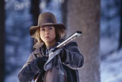 Renee Zellwegger in Cold Mountain.