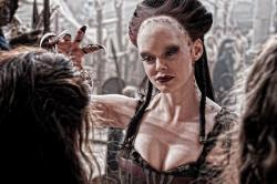 Rose McGowan in Conan the Barbarian.