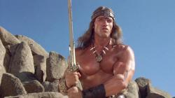 Arnold Schwarzenegger in Conan the Destroyer