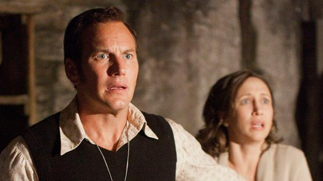 Patrick Wilson and Vera Farminga in The Conjuring 2