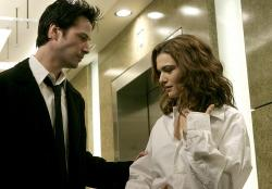 Keanu Reeves and Rachel Weisz in Constantine.