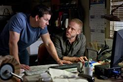 Mark Wahlberg and Ben Foster in Contraband.