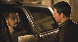 Giovani Ribisi and Mark Wahlberg in Contraband