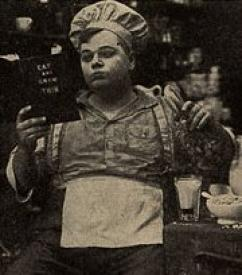 Roscoe Arbuckle in The Cook.