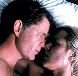 William H. Macy and Maria Bello in The Cooler.