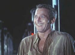 Paul Newman is Cool Hand Luke.