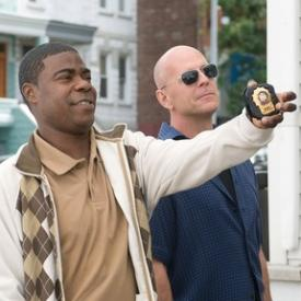Tracy Morgan and Bruce Willis cop out of their careers in Cop Out.
