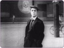 Buster Keaton in Cops.