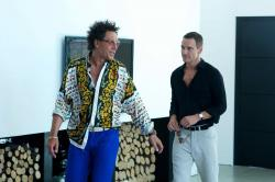 Javier Bardem and Michael Fassbender in The Counselor.