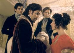 Henry Cavill, James Caviezel, Guy Pearce and Dagmara Dominczyk in The Count of Monte Cristo