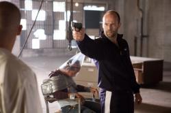 Jason Statham in Crank.