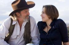 Oscar nominees Jeff Bridges and Maggie Gyllenhaal in Crazy Heart.