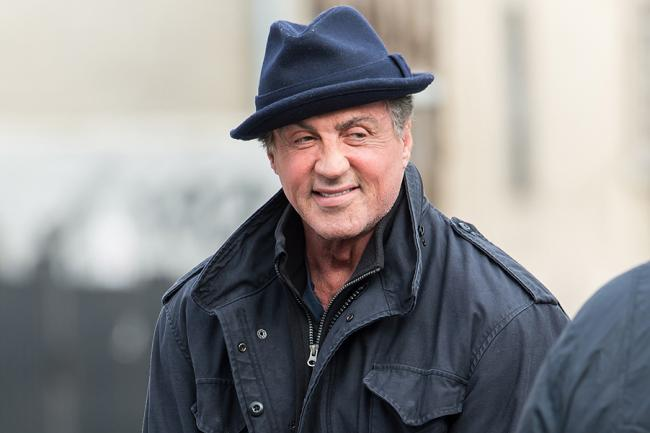 Sylvester Stallone in Creed.