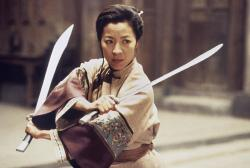 Michelle Yeoh in Crouching Tiger Hidden Dragon.