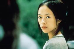 Ziyi Zhang in Crouching Tiger Hidden Dragon.