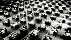The most famous shot in King Vidor's The Crowd.